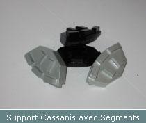 support cassanis avec segments