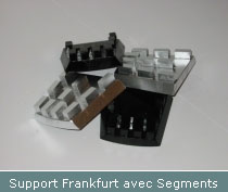 support frankfurt avec segments