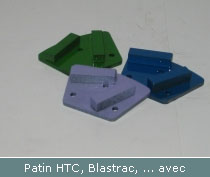 patin htc blastrac avec segment