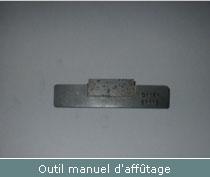 outil manuel affutage