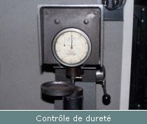 controle de durete echelle HRB