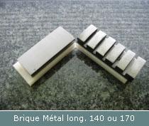 brique metal de polissage