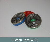 plateau metal pour surfacage et polissage manuel